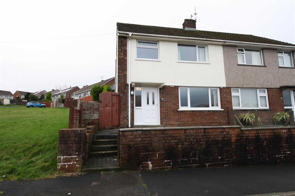 3 Bedrooms Semi Detached House for sale in Heol Nant, Cwmdare, Aberdare, Mid Glamorgan