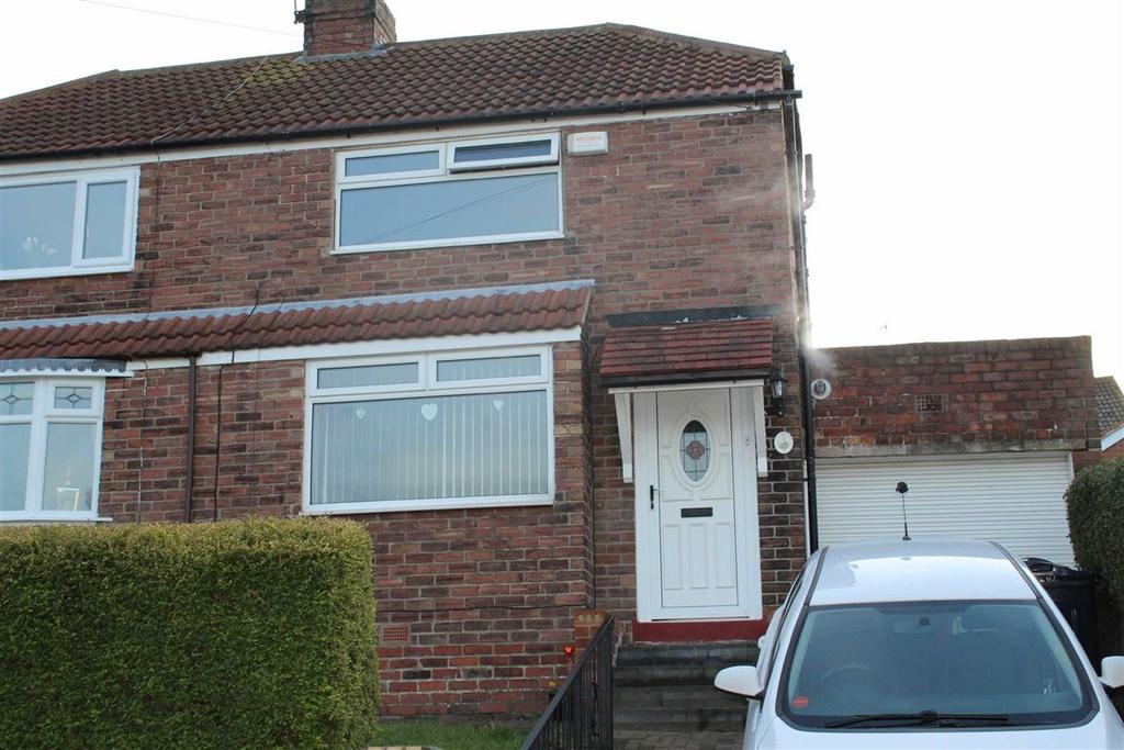 2 Bedrooms Semi Detached House for sale in Woodburn Gardens, Dunston, Tyne And Wear