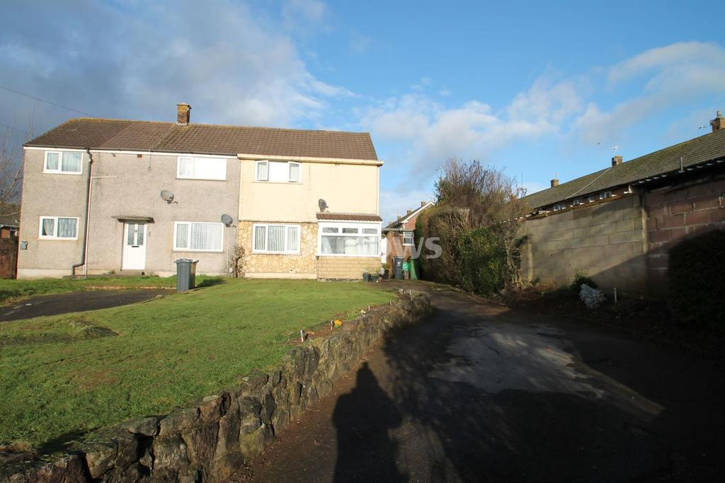 2 Bedrooms Semi Detached House for sale in Ball Lane, Llanrumney, Cardiff