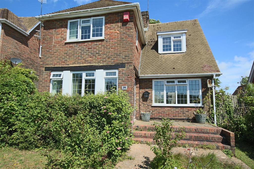 3 Bedrooms Detached House for sale in Brangwyn Crescent, Brangwyn, Brighton