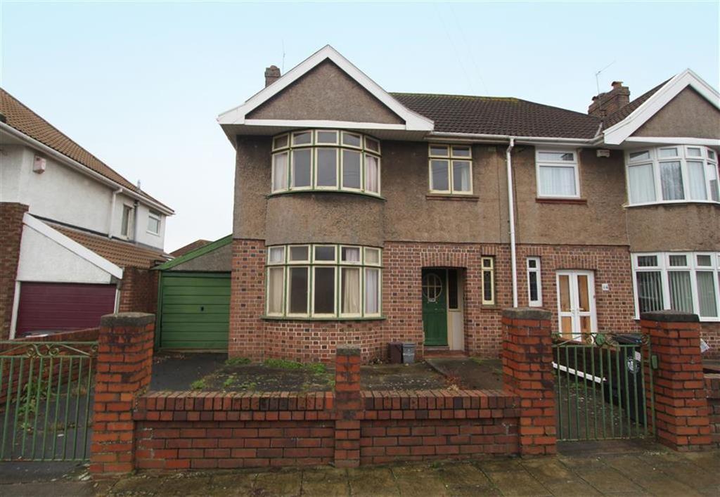 3 Bedrooms Semi Detached House for sale in Marguerite Road, Uplands, Bristol