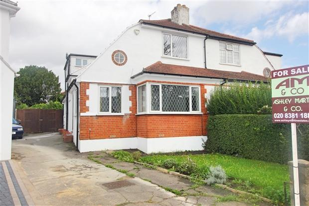 4 Bedrooms Semi Detached House for sale in Mollison Way Edgware Harrow HA8