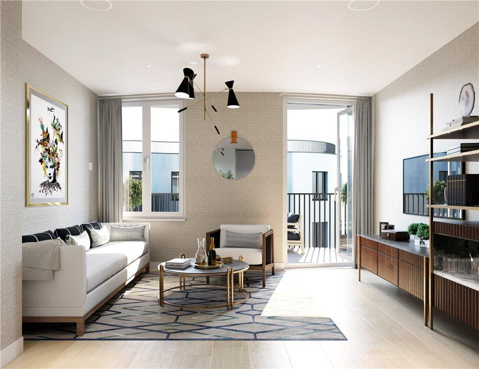 Studio Flat for sale in Islington Square, 8 Esther Anne Place, Islington, London, N1