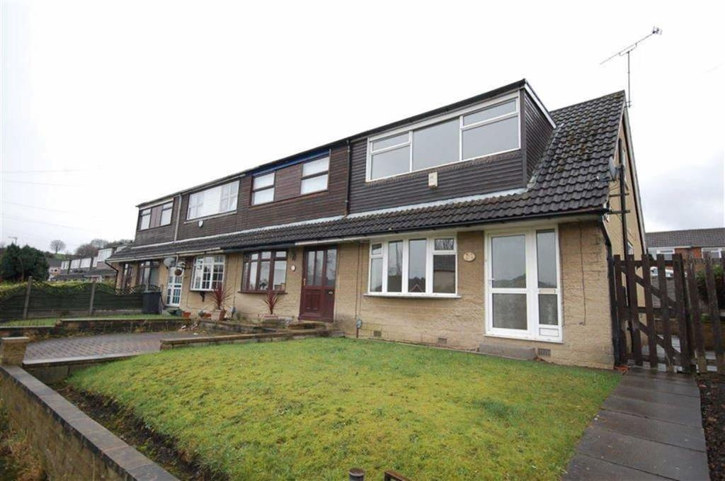 3 Bedrooms End Of Terrace House for sale in Larch Close, Liversedge, WF15