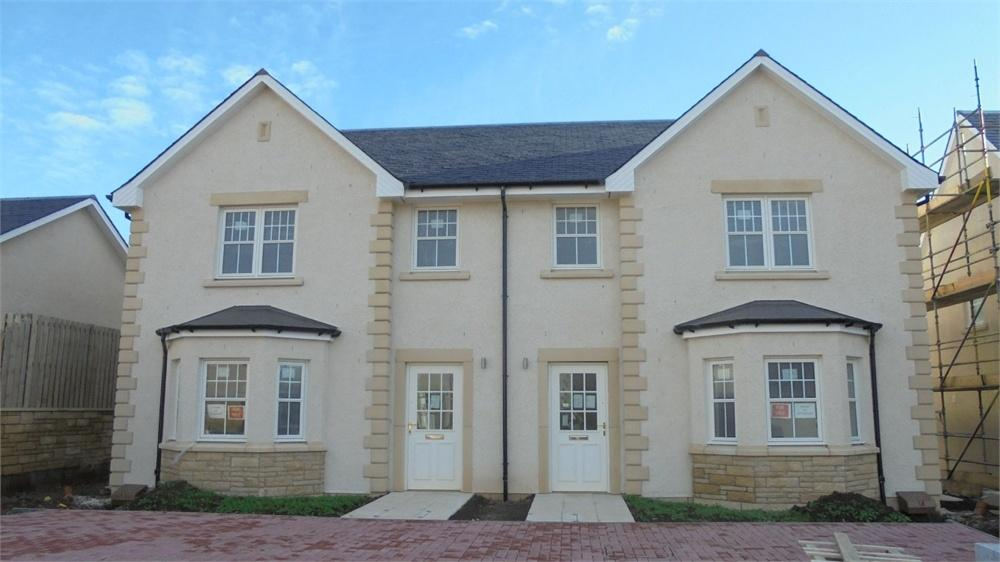 3 Bedrooms Semi Detached House for sale in The Paxton (Plot 18b), The Grange, Castle Terrace, Berwick upon Tweed, Northumberland
