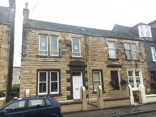 2 Bedrooms Flat for sale in Upper Flat, 16 Sidney Street, Saltcoats, KA21 5DD