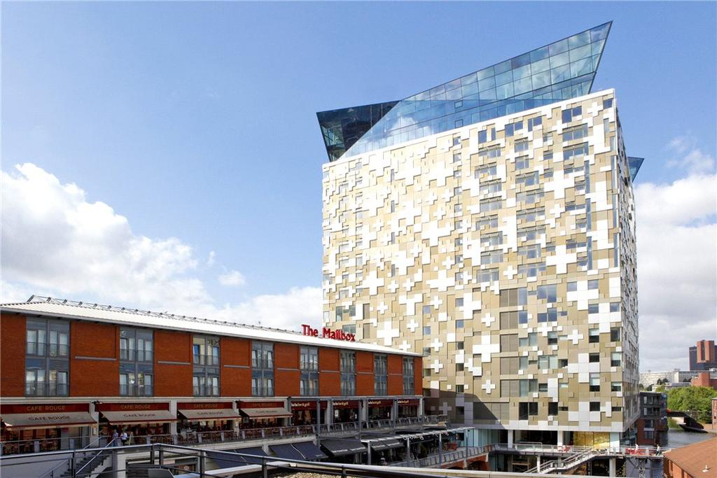 2 Bedrooms Flat for sale in The Cube, Wharfside Street, Birmingham, Birmingham City Centre, B1