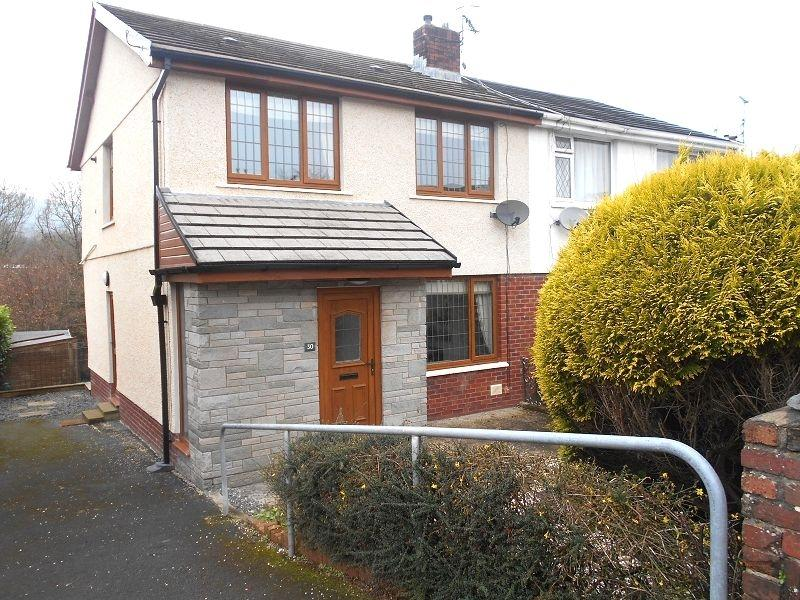 3 Bedrooms Semi Detached House for sale in Dyffryn View, Neath, Neath Port Talbot.