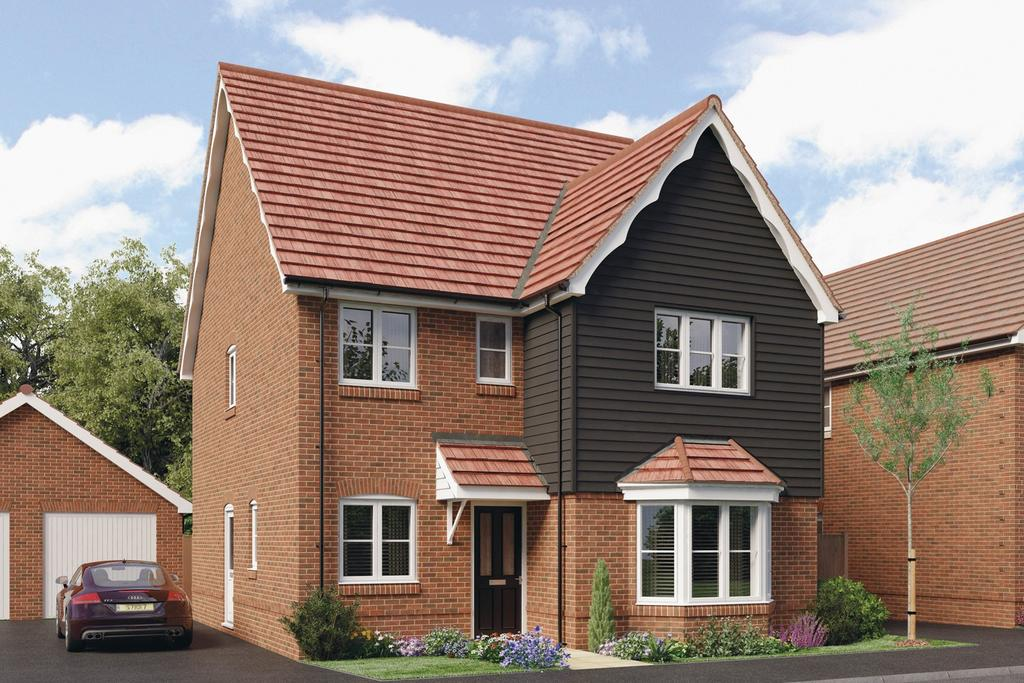 4 Bedrooms Detached House for sale in Mulberry Fields, Mill Straight, Southwater, RH13