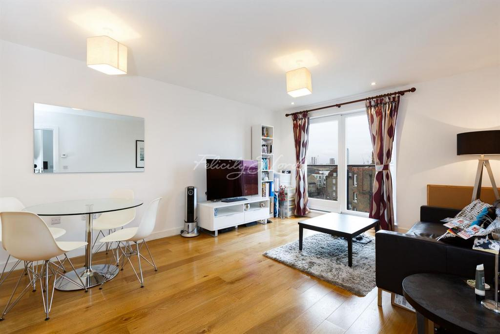 1 Bedroom Flat for sale in Forge Square, Canary Wharf, E14