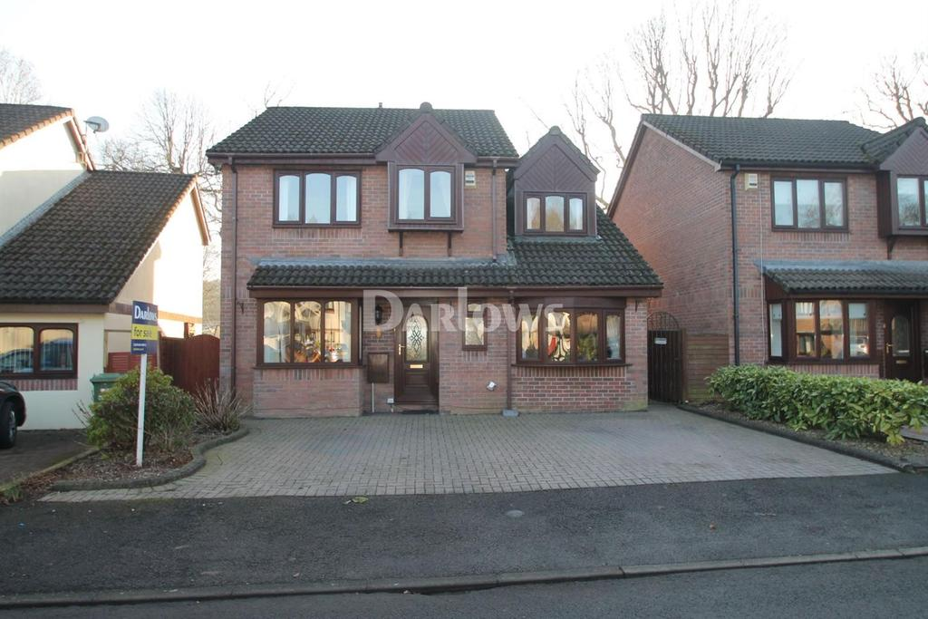 5 Bedrooms Detached House for sale in The Grove, Pontypridd