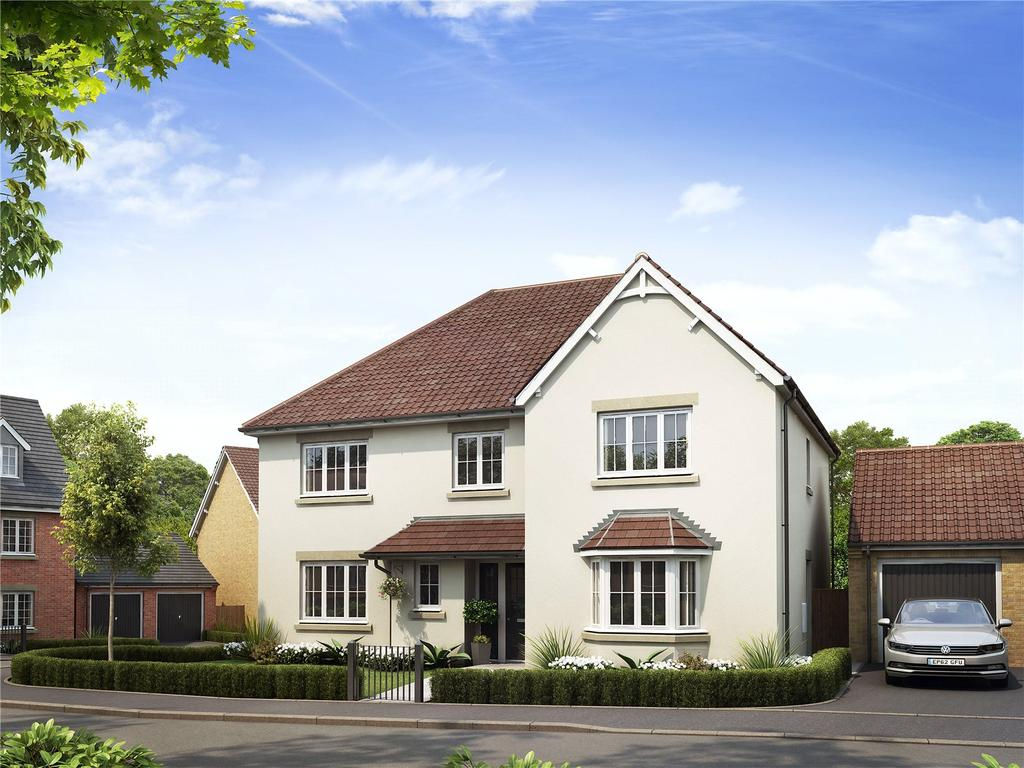 5 Bedrooms House for sale in Larkfleet Rise, Hyde Lane, Creech St Michael, Somerset, TA3