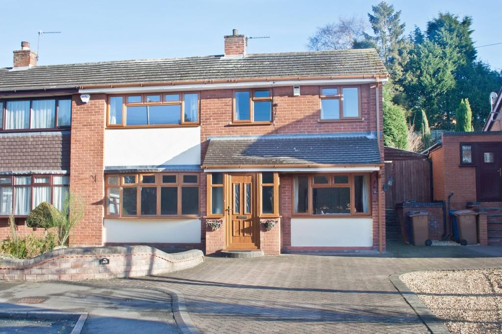 4 Bedrooms Semi Detached House for sale in Crane Drive, Burntwood