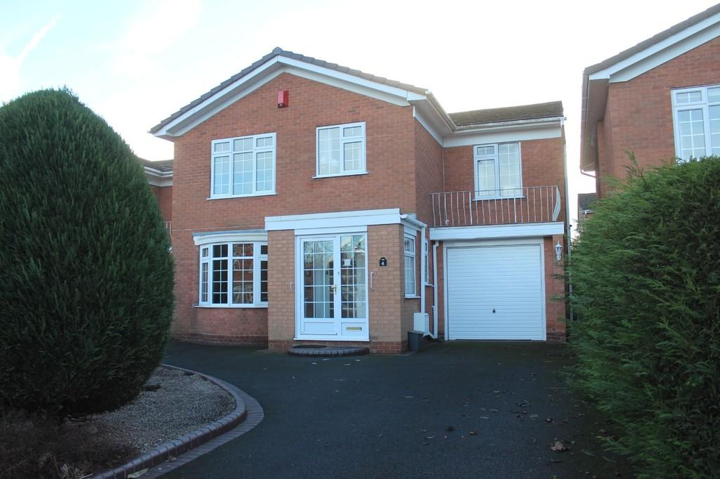4 Bedrooms Detached House for sale in Abbots Close, Knowle