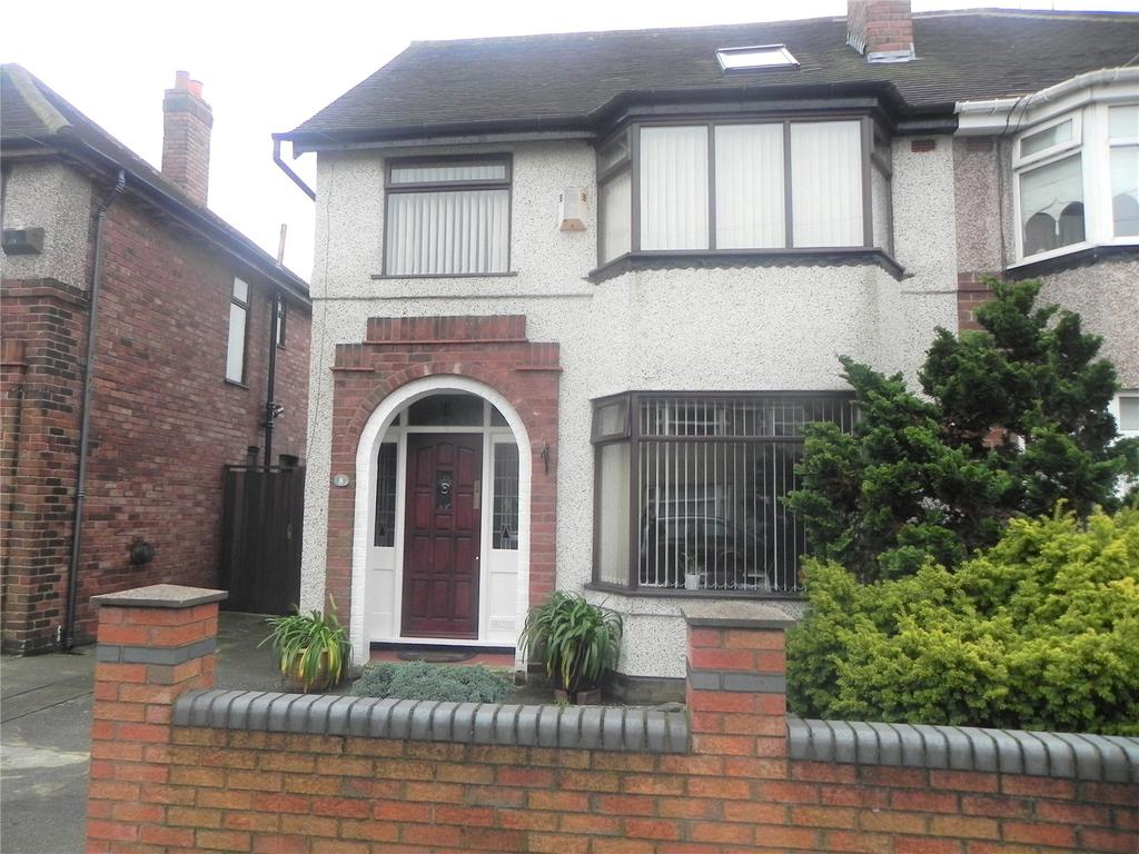 4 Bedrooms Semi Detached House for sale in Ecclesall Avenue, Litherland, L21
