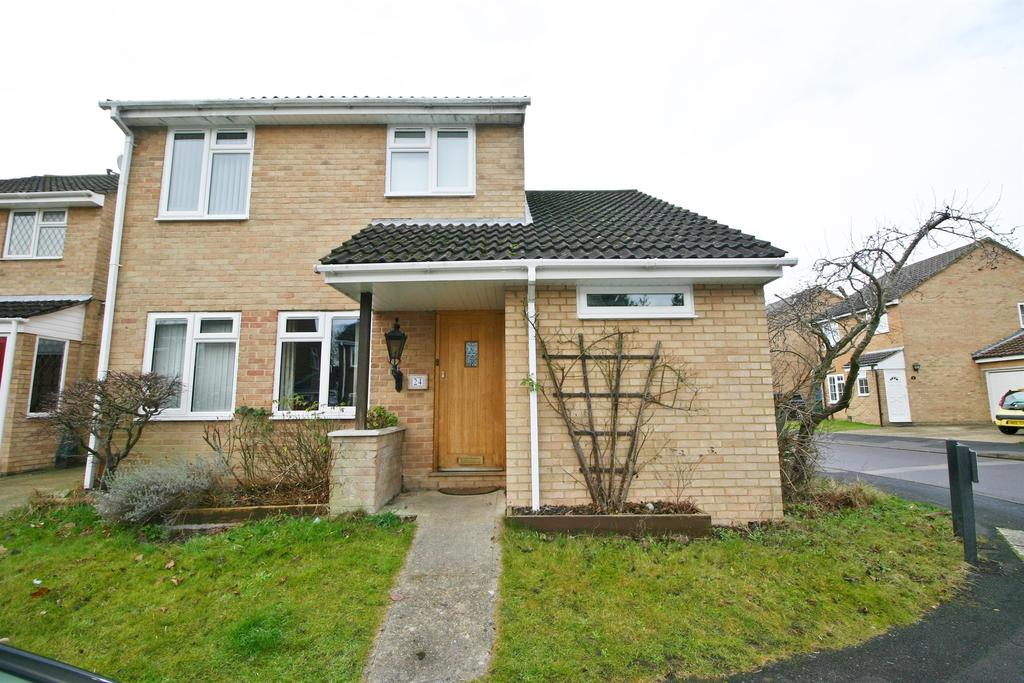 3 Bedrooms Link Detached House for sale in Wootton, Netley Abbey, Southampton, SO31 5GN