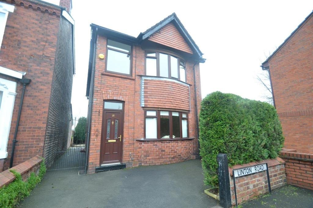 3 Bedrooms Detached House for sale in Linton Road, Sale