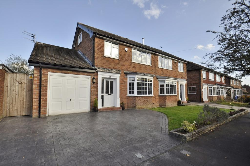 5 Bedrooms Semi Detached House for sale in Ashley Drive, Bramhall,