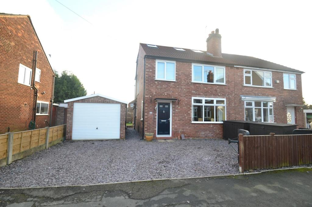 4 Bedrooms Semi Detached House for sale in Lydgate Road, Sale