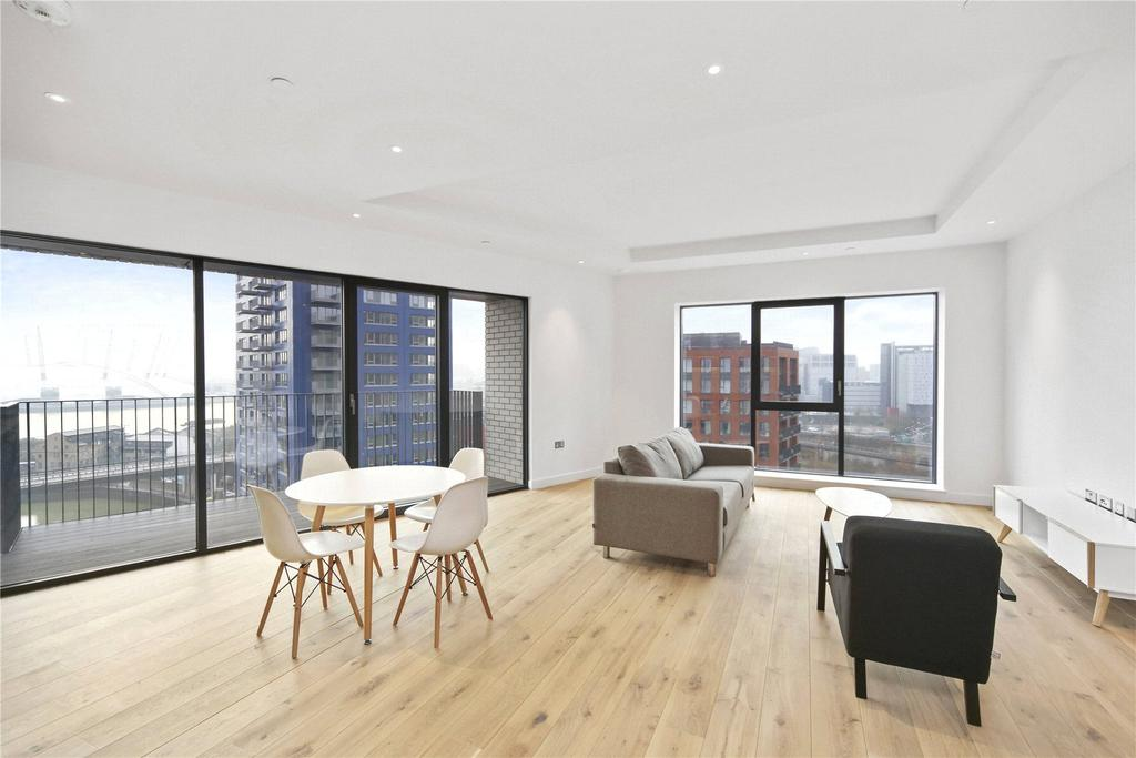 2 Bedrooms Flat for sale in Grantham House, Orchard Place, London, E14
