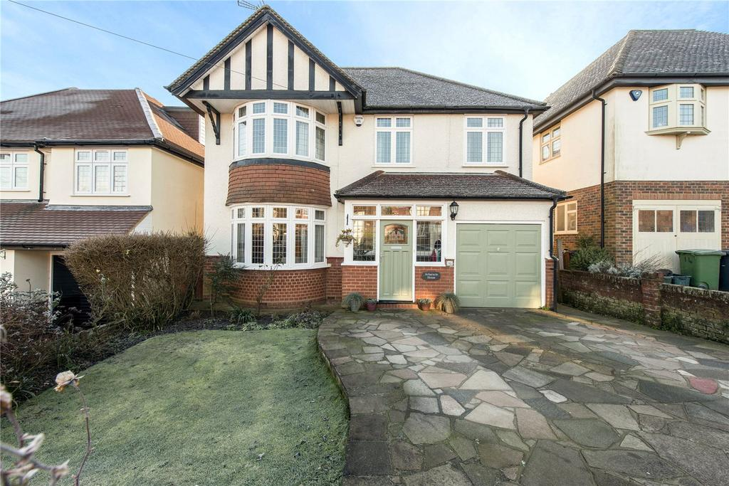 4 Bedrooms Detached House for sale in West Way, Harpenden, Hertfordshire, AL5