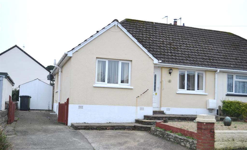 2 Bedrooms Semi Detached Bungalow for sale in Ellerslie Road, Sticklepath, Barnstaple