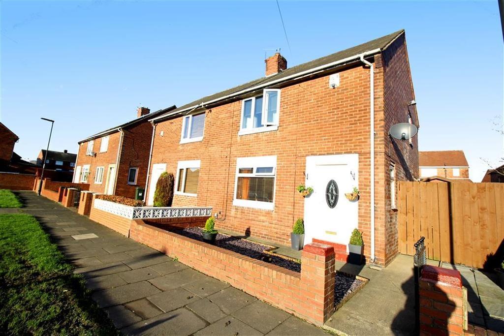 2 Bedrooms Semi Detached House for sale in Brampton Gardens, Wallsend, NE28