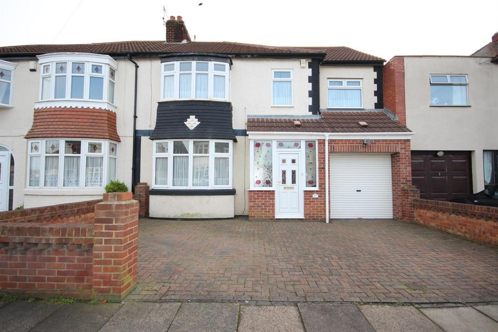 4 Bedrooms Semi Detached House for sale in Westbrooke Avenue, Hartlepool