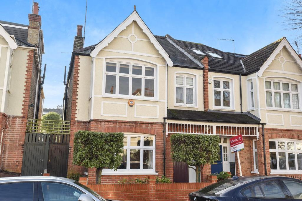 4 Bedrooms Semi Detached House for sale in Elmwood Road, Chiswick, W4