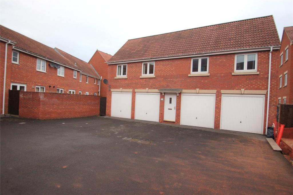 2 Bedrooms Apartment Flat for sale in Meadowlands Avenue, Bridgwater, Somerset, TA6