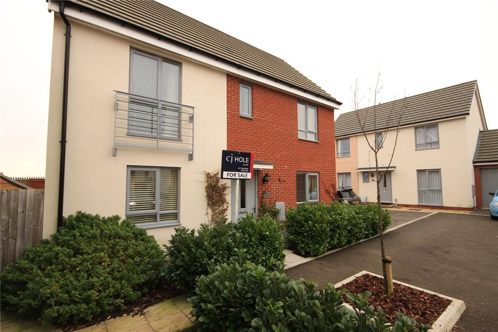 3 Bedrooms Detached House for sale in Great Copsie Way, Cheswick Village, Bristol, BS16