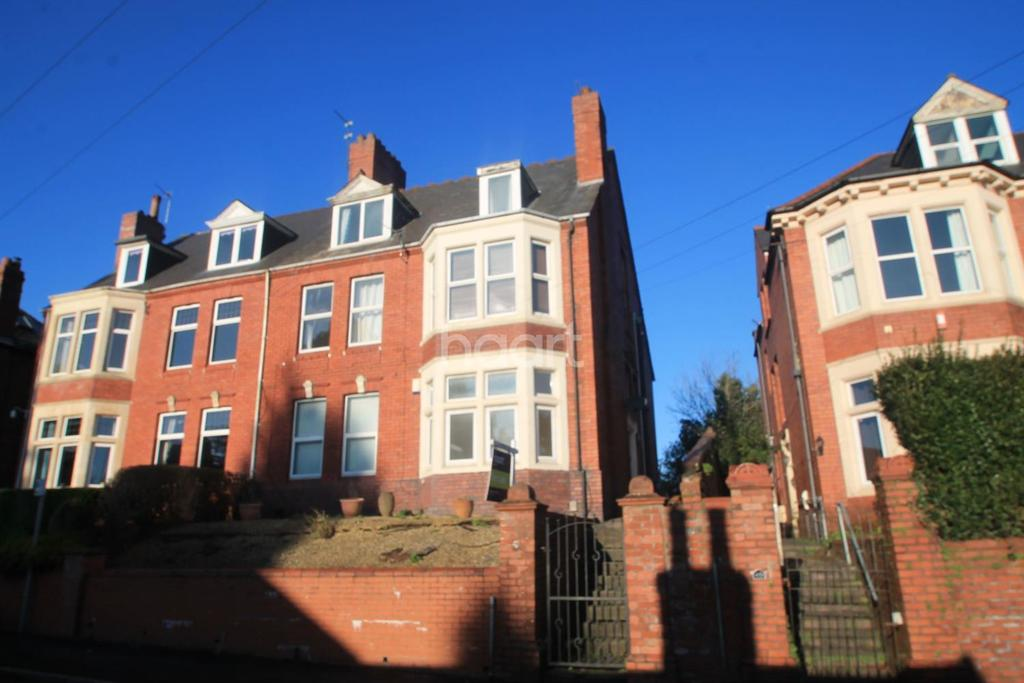 2 Bedrooms End Of Terrace House for sale in Fields Road, City Centre, Newport