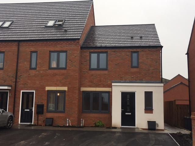 3 Bedrooms End Of Terrace House for rent in Detling Drive, Wolverhampton WV2