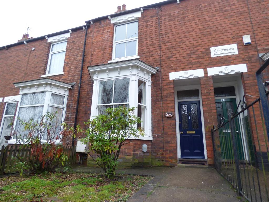 3 Bedrooms Terraced House for sale in 276 Grovehill Road, Beverley, East Yorkshire, HU17 0HP