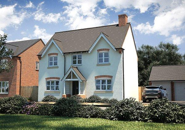 4 Bedrooms Detached House for sale in Plot 41, Arlington, Meadowside, Ashburton Road, Totnes, TQ9