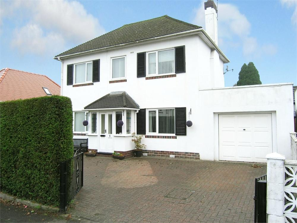 3 Bedrooms Detached House for sale in Dan-y-Coed Road, Cyncoed, Cardiff