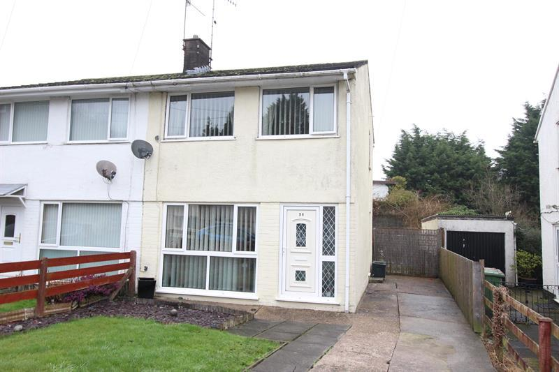 2 Bedrooms Semi Detached House for sale in Garden Close, Llanbradach, Caerphilly