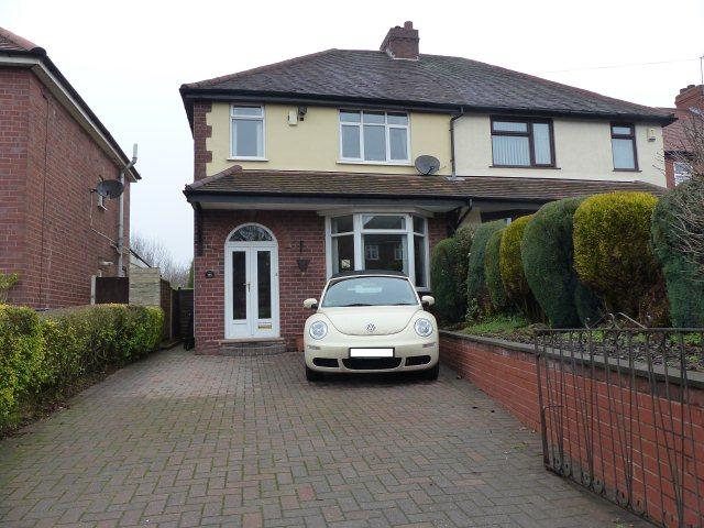 3 Bedrooms Semi Detached House for sale in Lichfield Road,Walsall Wood,Walsall