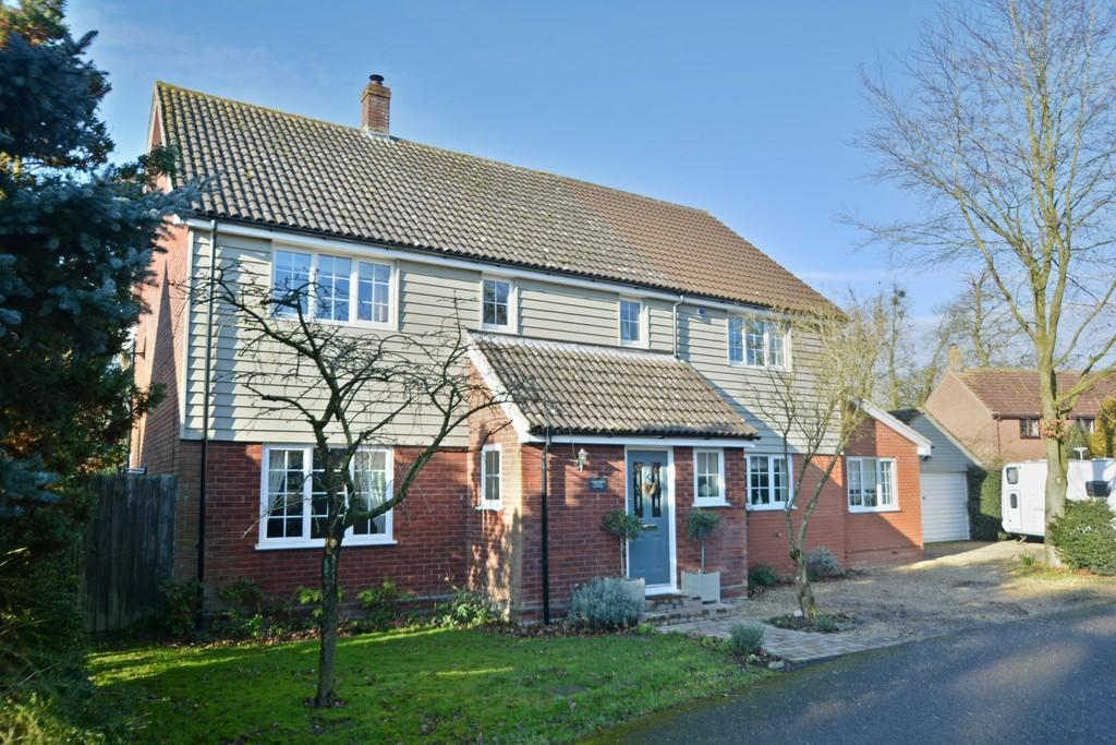 5 Bedrooms Detached House for sale in Old Rectory Gardens, Occold