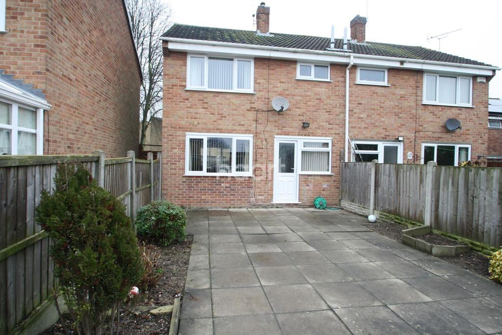 3 Bedrooms Semi Detached House for sale in Arran Close, Sinfin