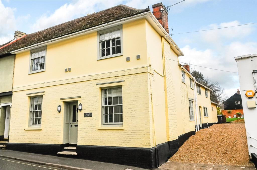 4 Bedrooms Semi Detached House for sale in High Street, Bildeston, Ipswich, Suffolk