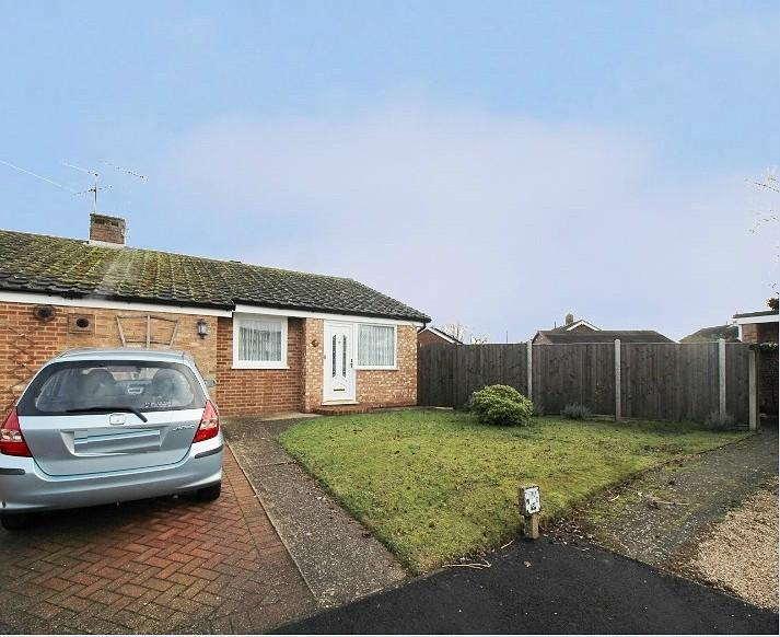 2 Bedrooms Semi Detached Bungalow for sale in Glebe Close, Elmstead, Colchester, Essex, CO7