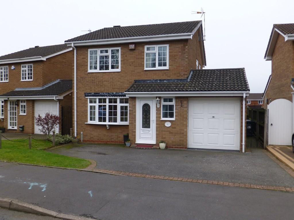 3 Bedrooms Detached House for sale in Trustin Crescent, Solihull