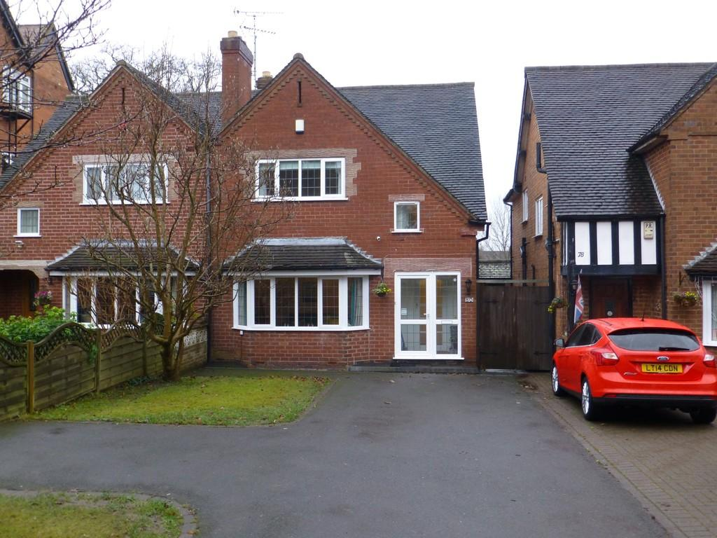 3 Bedrooms Semi Detached House for sale in Kineton Green Road, Solihull