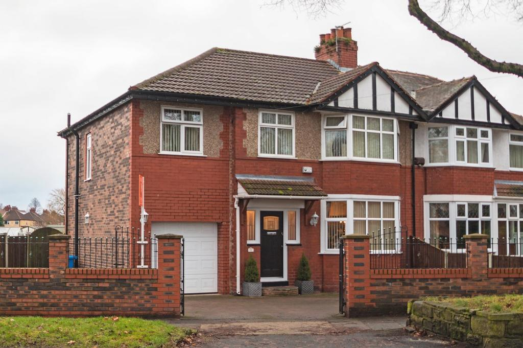 5 Bedrooms Semi Detached House for sale in Bowfell Road, Urmston, Manchester, M41