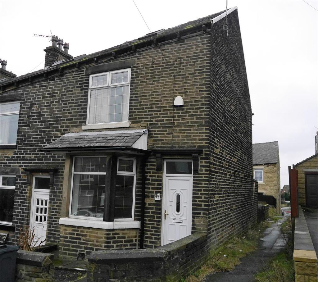 3 Bedrooms End Of Terrace House for sale in Poplar Avenue, Horton Bank Top, Bradford, BD7 4LQ