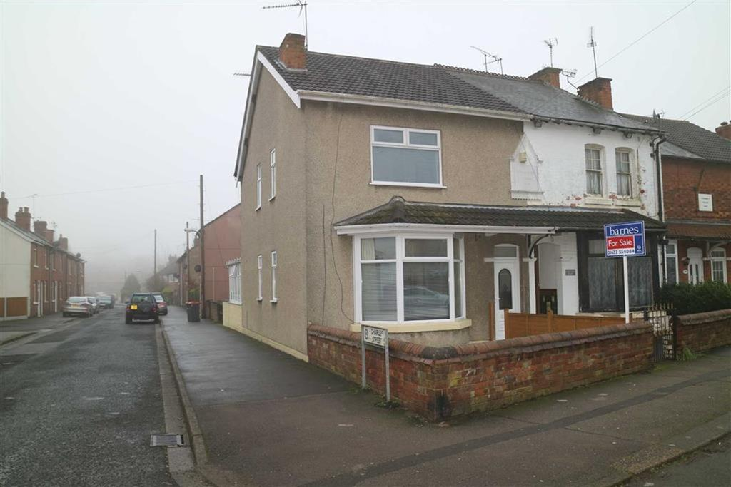3 Bedrooms Semi Detached House for sale in Garden Lane, Sutton In Ashfield, Notts, NG17