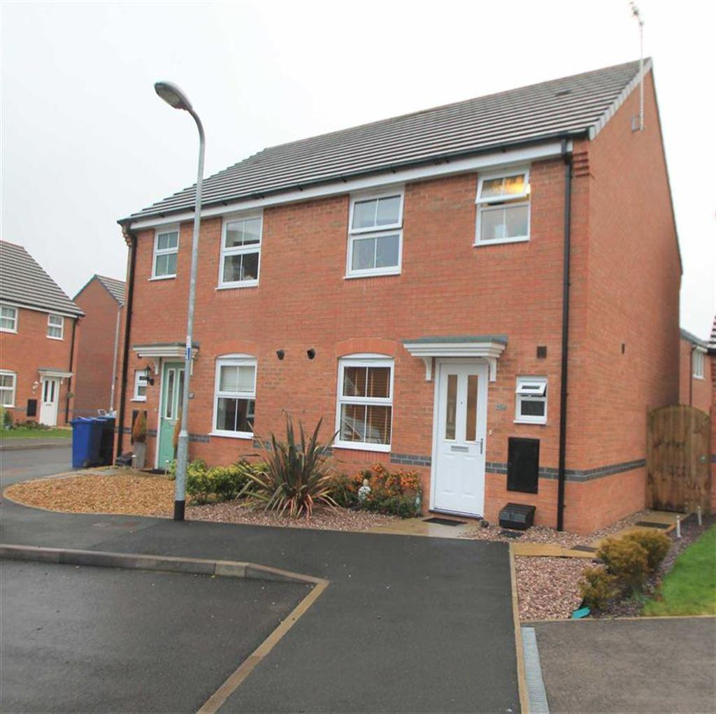 3 Bedrooms Semi Detached House for sale in Lamberton Drive, Brymbo, Wrexham