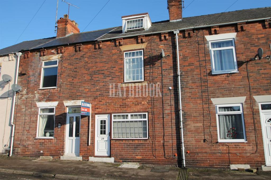 3 Bedrooms Terraced House for sale in Peveril Road, Eckington