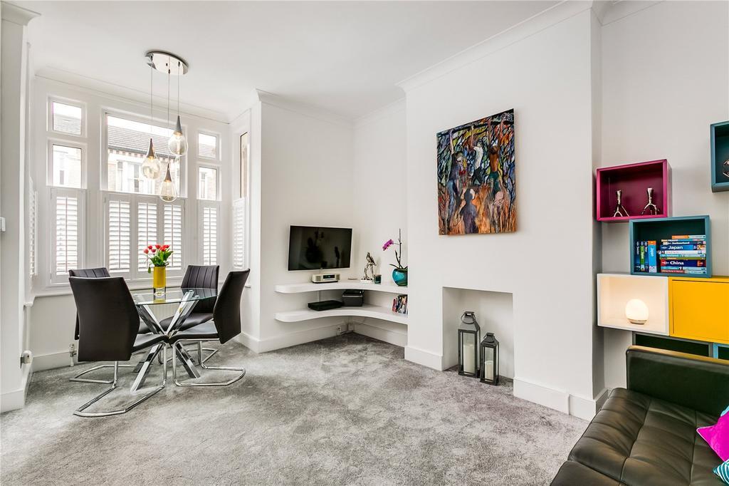 1 Bedroom Flat for sale in Strathblaine Road, Battersea, London
